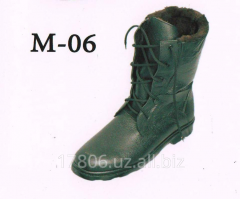 To floor boots M skin – 06 Natural fur