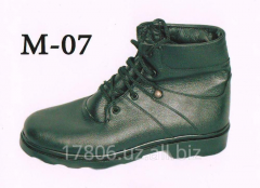Boots man's M – 07 Genuine leather
