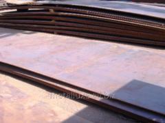 Прокат стальной горячекатаный листы