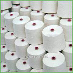 Cotton (100%) a koltsopryadilny combed yarn,