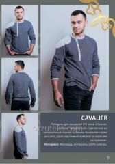 Рубашка мужская CAVALIER (жаккард, интерлок 100%