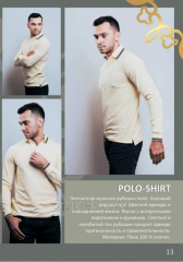 Polo-neck for men of POLO-SHIRTS (dive of 100%