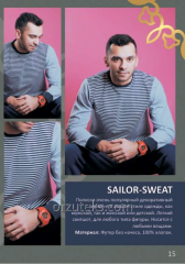Easy sweatshirt man's SAILOR-SWEAT (footer