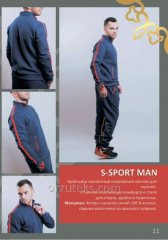 Sport wear of man's S-SPORT MAN (footer with