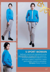 Sport wear female S-SPORT WOMAN (footer with pile)
