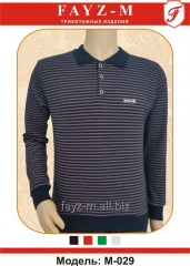 T-shirt man's the POLO INTERLOK with long sleeves