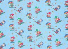 Детская ткань 7 гномов