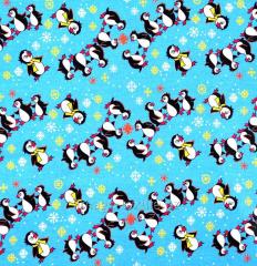 Детская ткань Пингвинчик