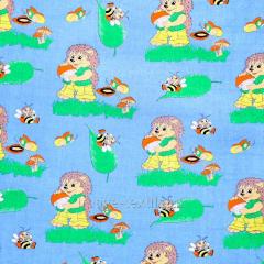 Детская ткань Ёжик