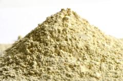 Dry mud the modified bentonite