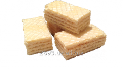 Wafers weight with a dairy stuffing