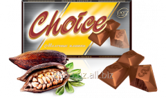 Chocolate of tiled 100 g CHOICE