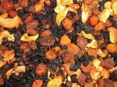 Kompotny mix from dried fruits