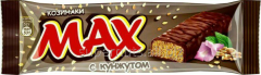 Max chocolate bar with sesame