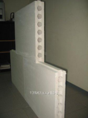 Tongue-and-groove plates for mezhkvartikhny and