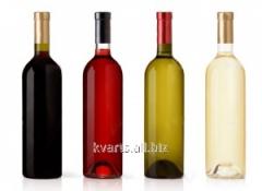 Бутылки стеклянные винные