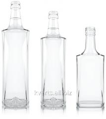 Бутылки стеклянные водочные