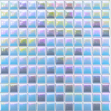Glass mosaic Blue, gray