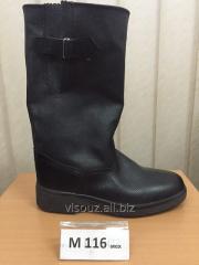 Les bottes en cuir artificiel