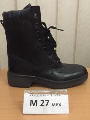 Ботинки с высокими берцами M 27 мех