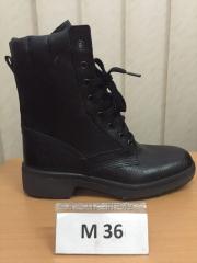 Ботинки с высокими берцами M 36