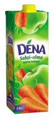 Apple and carrot nectar with pulp of Dena 1 of l