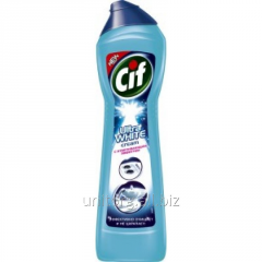 Cleaning cream for kitchen and bathtubs of Cif,
