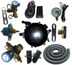 Gas-balloon equipment of GBO Methane