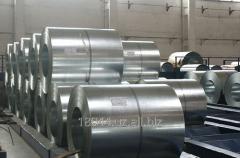 Galvanized sheet in rolls