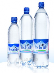 The aerated mountain Hydrolife® drinking water