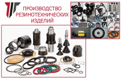 Rubber products of different function