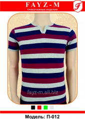 T-shirt teenage with short sleeves and color