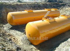Tanks steel horizontal cylindrical RGTs type