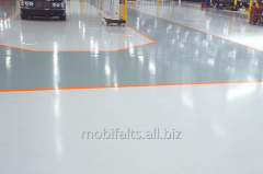 Polyurethane bulk floor