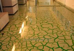 Epoxy floor of Good Luck Max