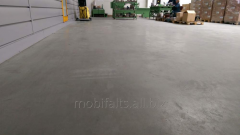 Industrial concrete floor of Good Luck Max