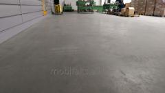 Industrial concrete floor of Good Luck Max