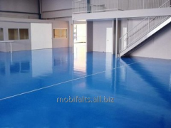 Industrial polymeric floor of Good Luck Max