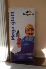 MEGA GLATT hard putty