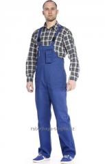 Spodnie i pół-kombinezony robocze