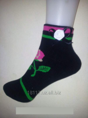 Women's Lady socks Black socks