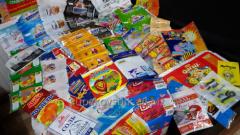 Упаковка торговая для продуктов питания, текстиля,