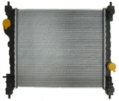Радиатор в сборе для автомобиля Spark