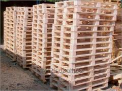 Pallets wooden with fumigation, Boxes, Evropalleta