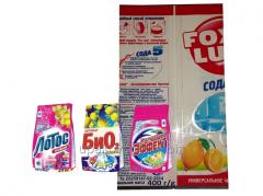 Упаковка для моющих чистящих средств