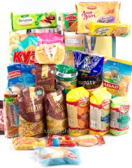 Упаковка для бакалейной и кондитерской продукции