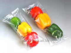 Packing packaging of vegetables