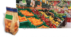Packing of vegetables and frui