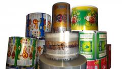 Полипропиленовая пленка рулонная для упаковки продукции