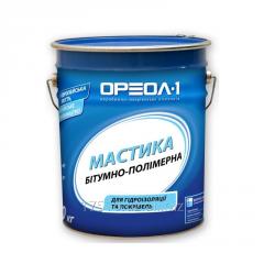 Mastic waterproofing bitumno polymeric simple /